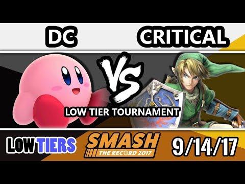 STR 2017 Smash 4 Low Tiers - DC (Kirby) Vs. AF | Critical (Link) - Smash Wii U
