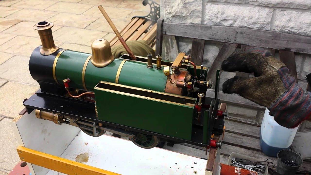 LBSC JULIET first steam