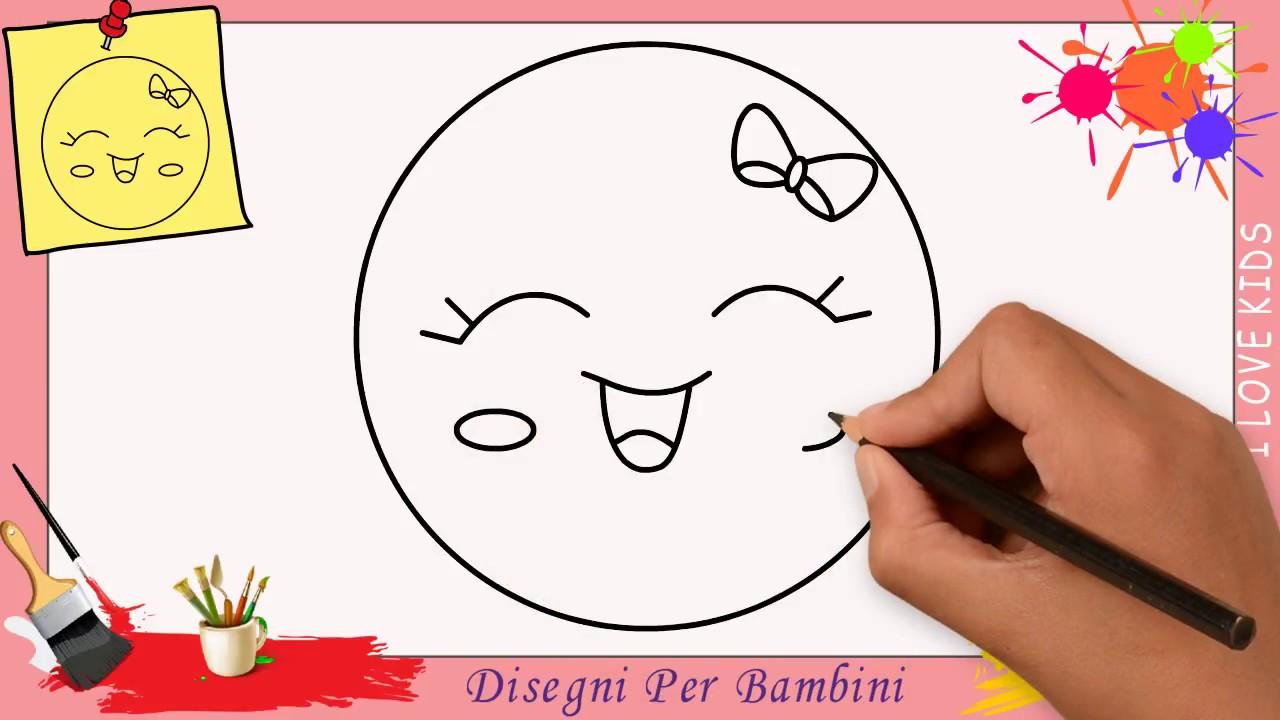 Bien-aimé Come disegnare un emoji FACILE & KAWAII passo per passo per  KU68
