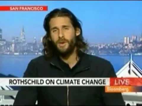 David Mayer de Rothschild on Alex Jones FULL Global Warming Debate (2007)