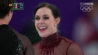 Tessa Virtue and Scott Moir Просто Лучшие!