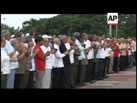 Commemorations to mark the anniversary of the Cuban revolution