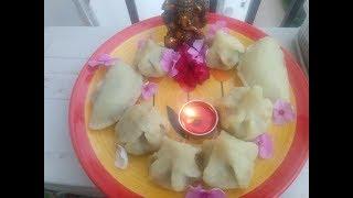 Traditional Steamed Modak Recipe | #GaneshChaturthi | Modak without mold