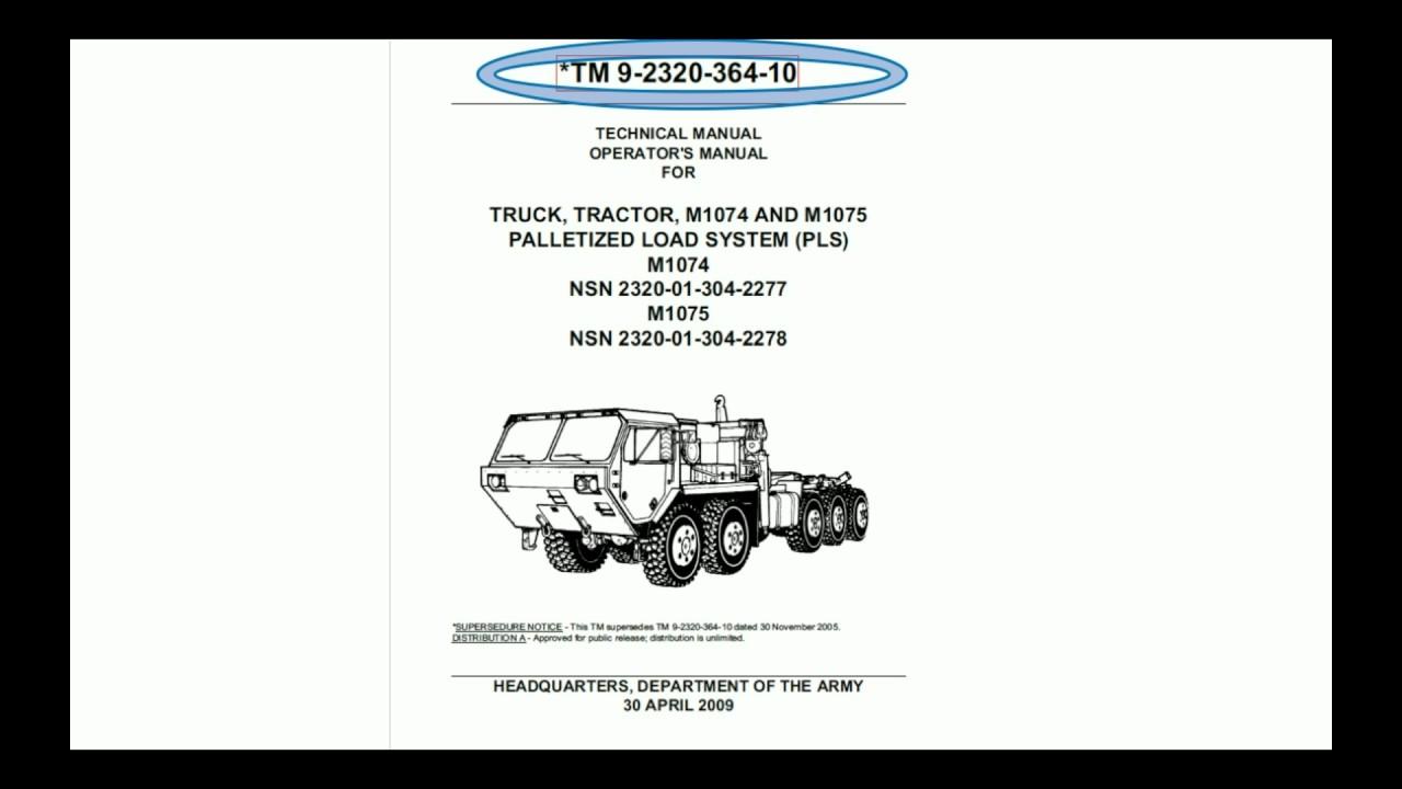 g army 5988 e class youtube rh youtube com M1075A1 WWN M1089A1