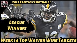 2019 Fantasy Football Rankings - Week 14 Top Waiver Wire Players To Target