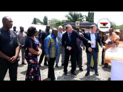 Akufo-Addo lays first stone for new France embassy building - Highlights