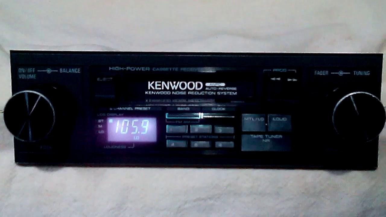 hight resolution of vintage kenwood krc 2001 am fm cassette car stereo 4