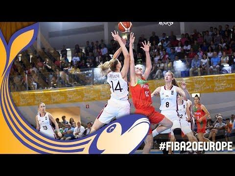 Latvia v Portugal - Full Game - FIBA U20 Women's European Championship 2017
