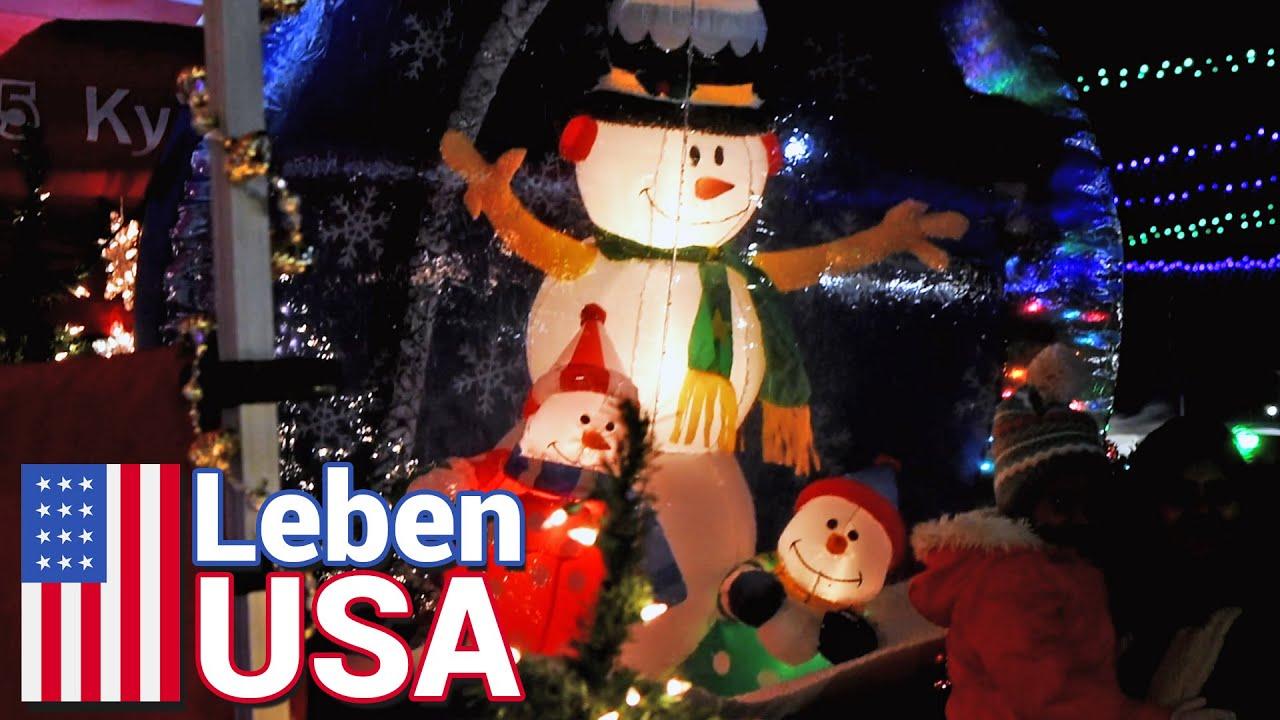 Weihnachtsmarkt in USA, San Diego, Kalifornien | December Nights ...