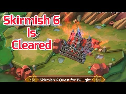 Lords Mobile:-How To Complete Skirmish 6 War? Problem Solved...