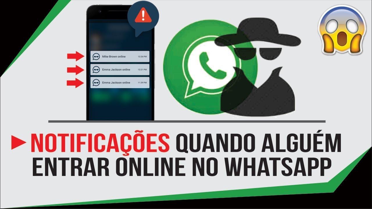 Whatsapp Como Receber Notificacao Quando Alguem Entrar Online