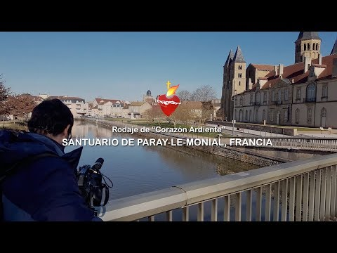 An Ardent Heart: filming in the Paray-le-Monial Sanctuary (France)