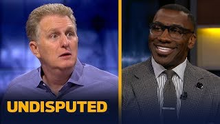 New York Knicks fanatic Michael Rapaport joins Skip Bayless and Shannon Sharpe in studio to talk about his team not winning the NBA Draft lottery last night.