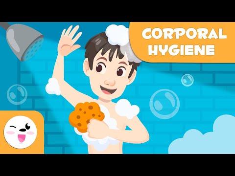 Personal Hygiene for Kids Hygiene Habits Showering, Hand Washing, Tooth Brushing, Face Washing