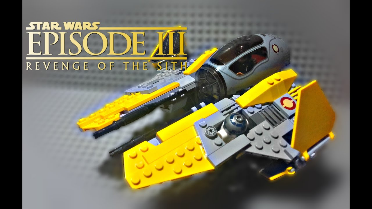 LEGO Star Wars - Anakin's Jedi Interceptor (75038 ...