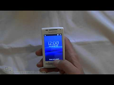 Sony Ericsson Xperia X8 unboxing video