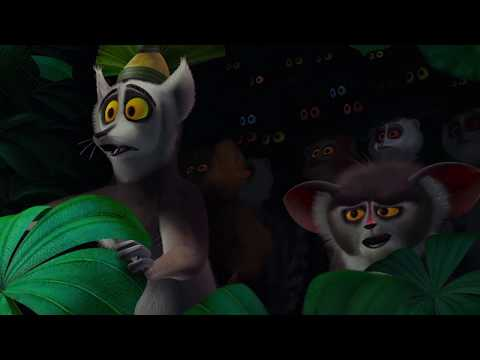 DreamWorks Madagascar | Funny Lemur Moments | Madagascar Movie Clip