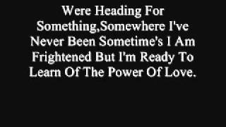 Gambar cover Celine Dion-The Power Of Love (Lyrics)