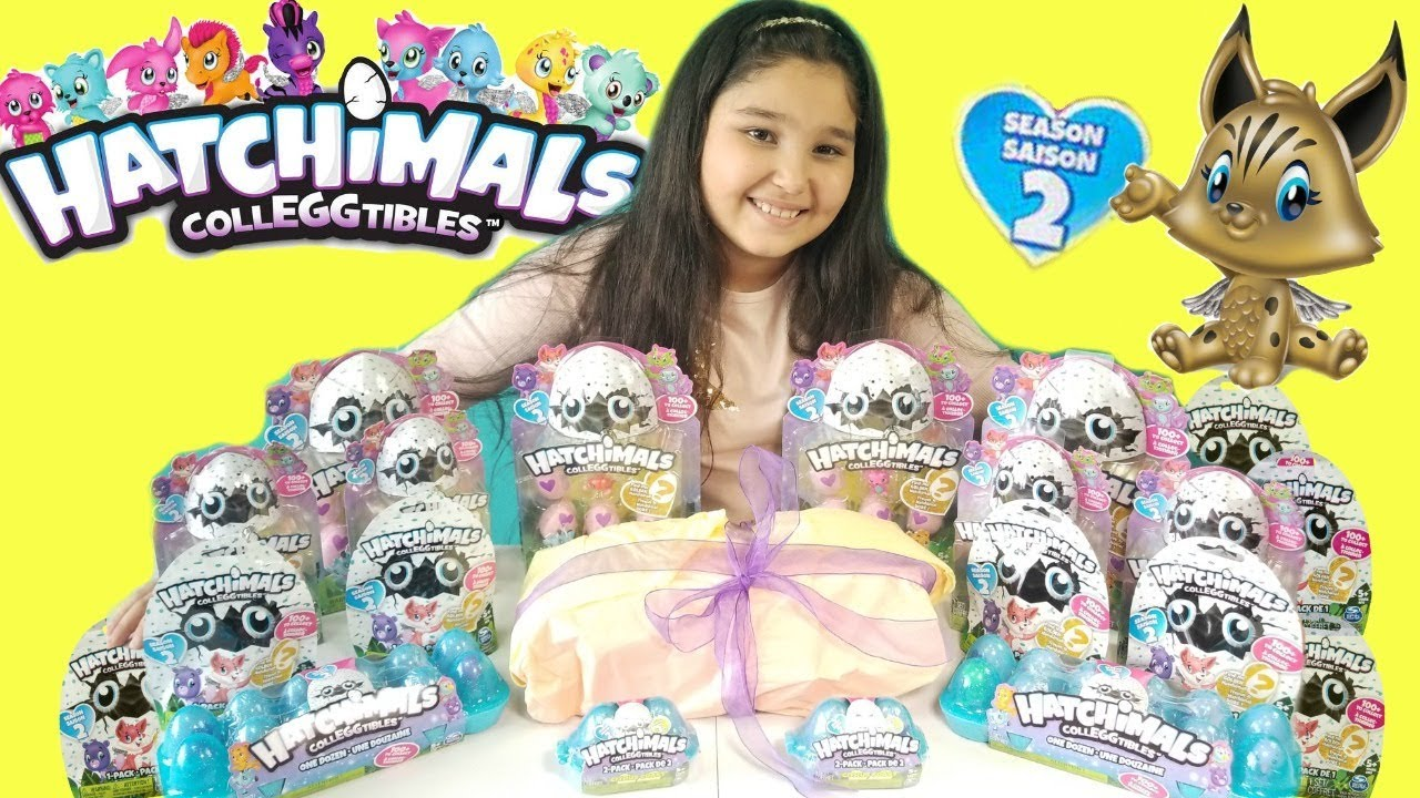 Hatchimals Colleggtabels Season 2 Collection Limited Edition