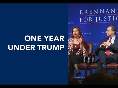One Year Under Trump: Solutions for Restoring Law and Democracy