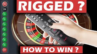 Rigged Roulette - H๐w to Win