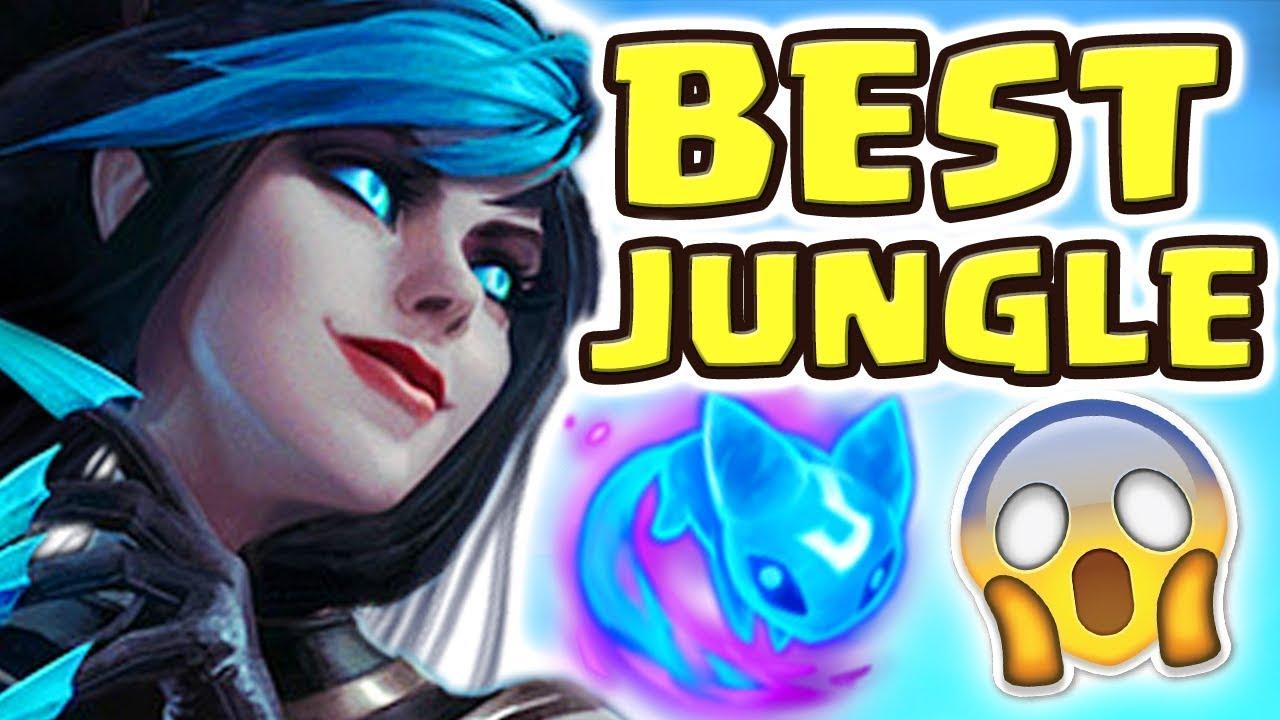 WE ACTUALLY BROKE THE GAME!! NEW EVELYNN REWORK JUNGLE SPOTLIGHT   THE BEST JUNGLER EVER Nightblue3