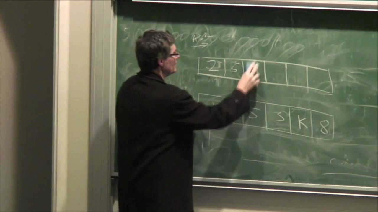 Lecture 6: Data Structures and Algorithms - Richard Buckland