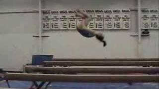 Kasey Haas Gymnastics 2008