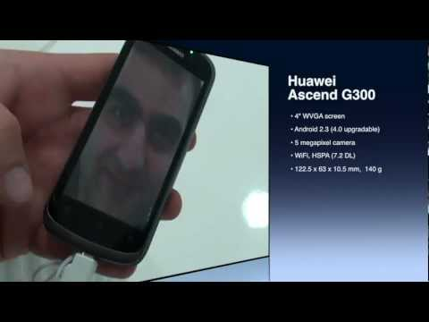 Huawei Ascend P300 hands-on