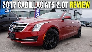 2017 Cadillac ATS 2.0T | AWD, Sunroof, Bose (In-Depth Review)