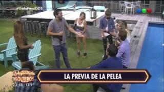 Lucho y Alan provocaron a Pablo y Angie - Despedida de Solteros
