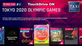 Asphalt 9 - Tokyo 2020 Olympic Games - 1st Run - Free Try Furai - TouchDrive