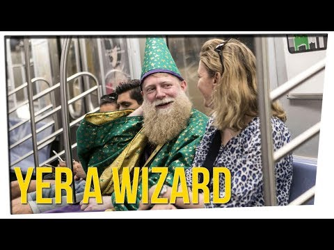 Subway Wizard Grants Wishes In NYC ft. Steve Greene & DavidSoComedy