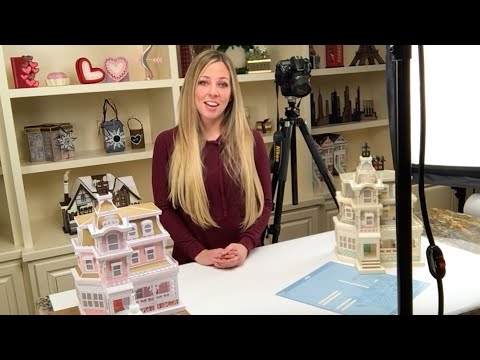 Magnolia Manor SVG Kit Assembly Tutorial