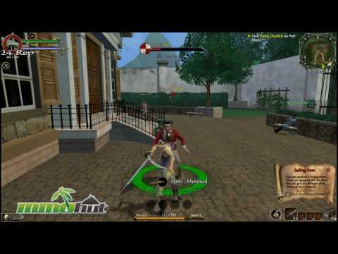 Pirates of the Caribbean Online Gameplay - First Look HD