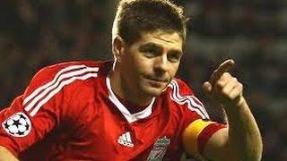 Steven Gerrard ~ Top 10 Craziest Goals Ever  HD