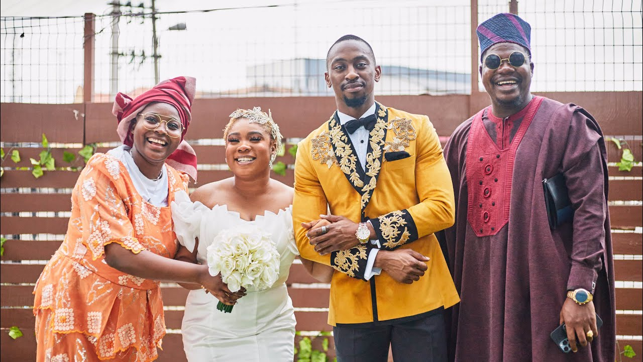 Download THE WEDDING   MR MACARONI   SAGA AND NINI BIG BROTHER NAIJA   MOTUNDE