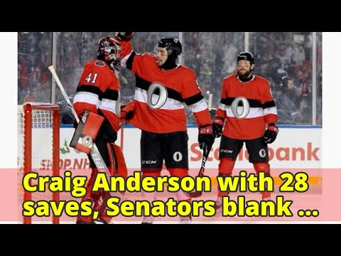 Craig Anderson with 28 saves, Senators blank Canadiens 3-0 in NHL 100 Classic