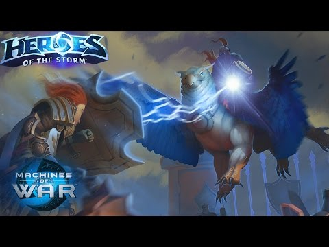 Falstad - New Lightning Rod Build!? // Heroes of the Storm