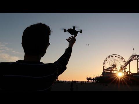 Flying The Drone Over Santa Monica | Vlog