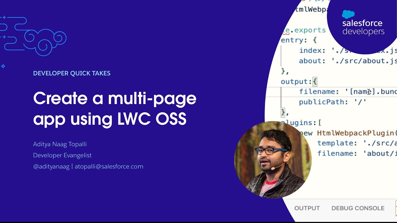 Create a multi-page app using LWC OSS   Quick Take