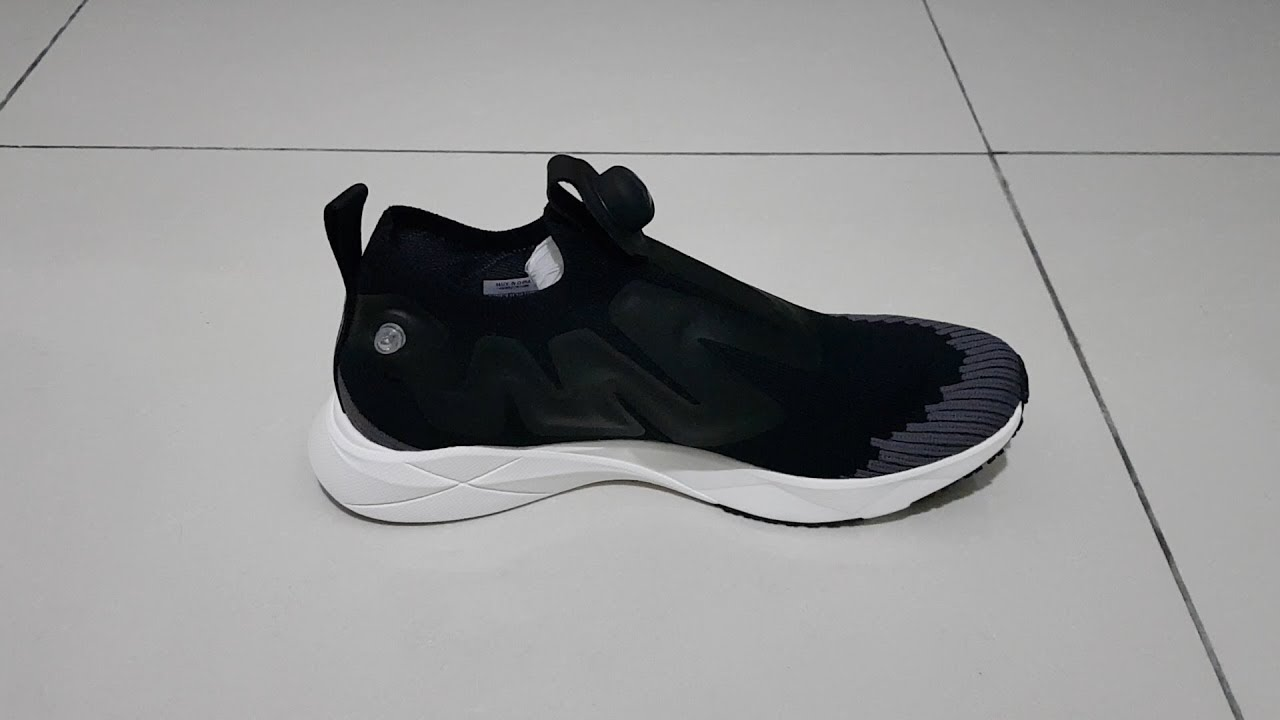 4d5a1d88e711e9 Reebok Pump Supreme Ultraknit (Black) - YouTube