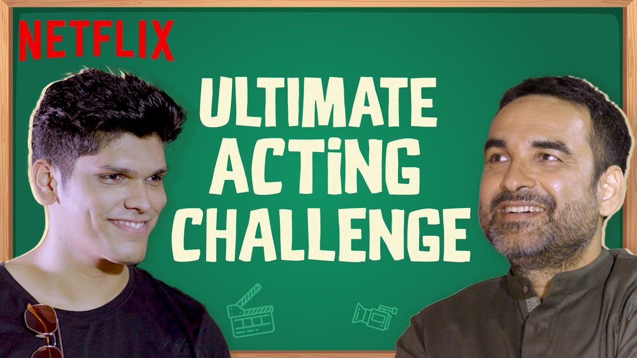 Can @Mythpat act? | Pankaj Tripathi's Acting Classes | Mimi | Netflix India