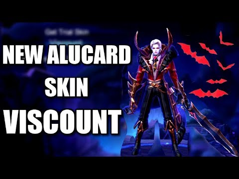 NEW ALUCARD SKIN VISCOUNT STARLIGHT ANIMATION AND SKILLS