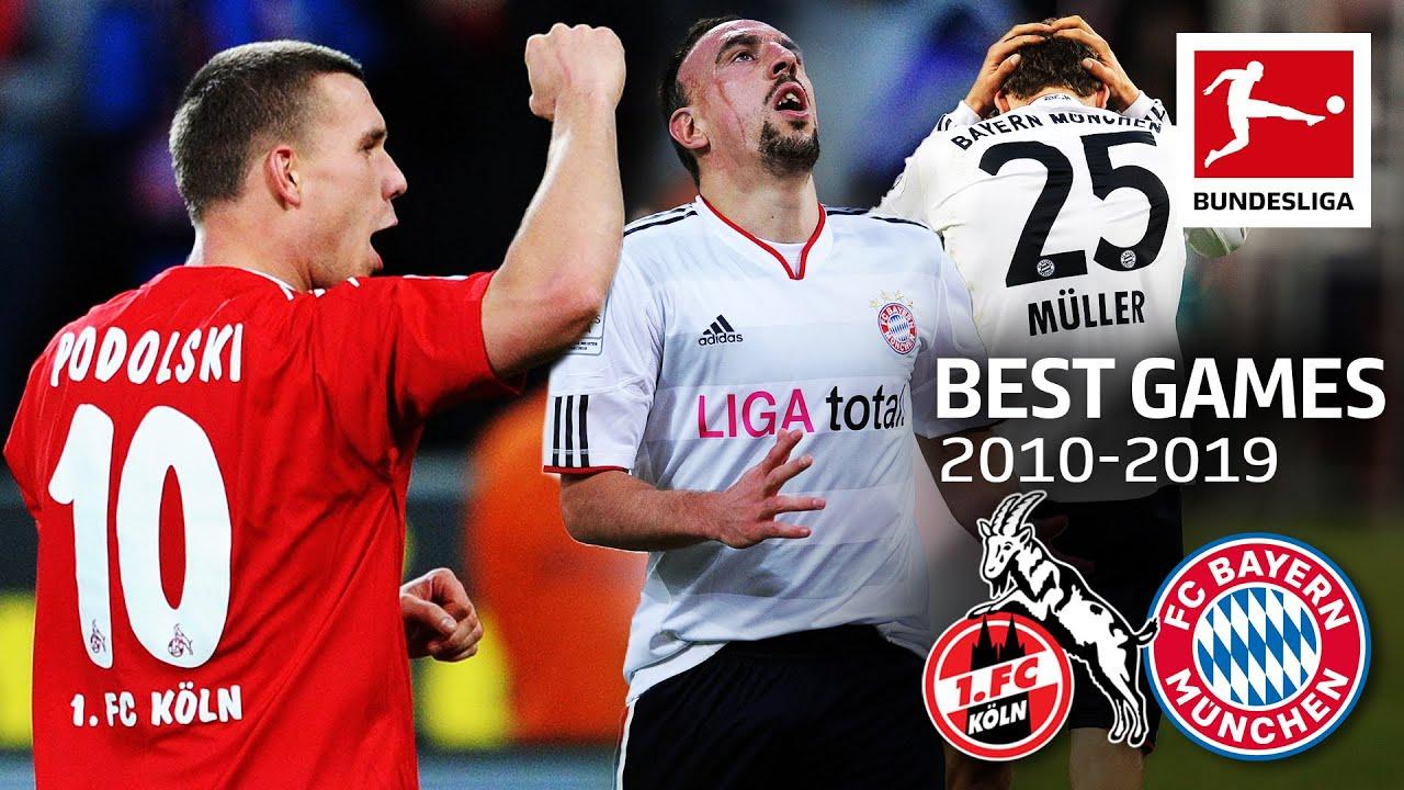 Best Comebacks in Football   1.FC Köln vs. FC Bayern München 3-2