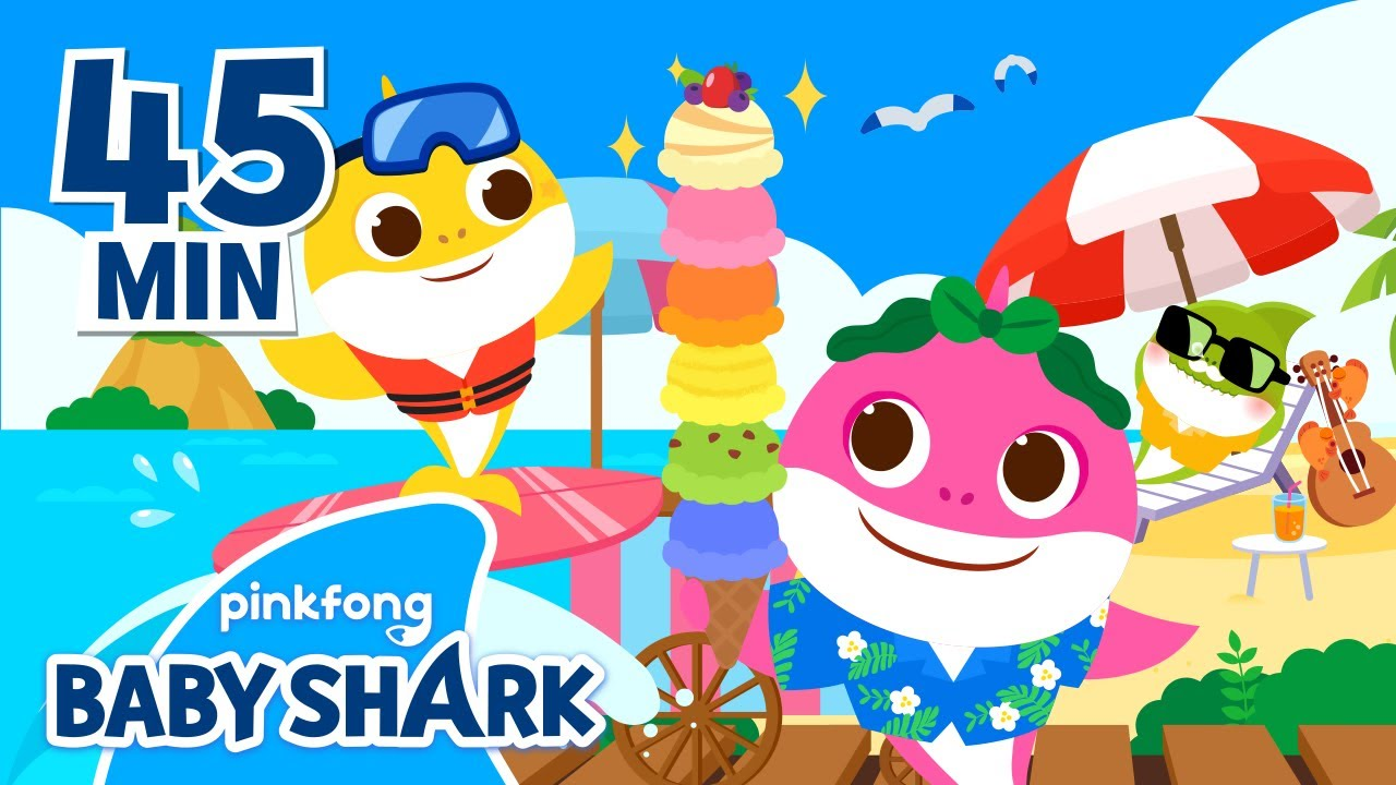 Baby Shark's Summer Collection | +Compilation | Baby Shark Songs | Baby Shark Official