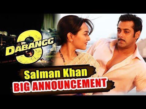 Salman Khan Announces Dabangg 3 |...