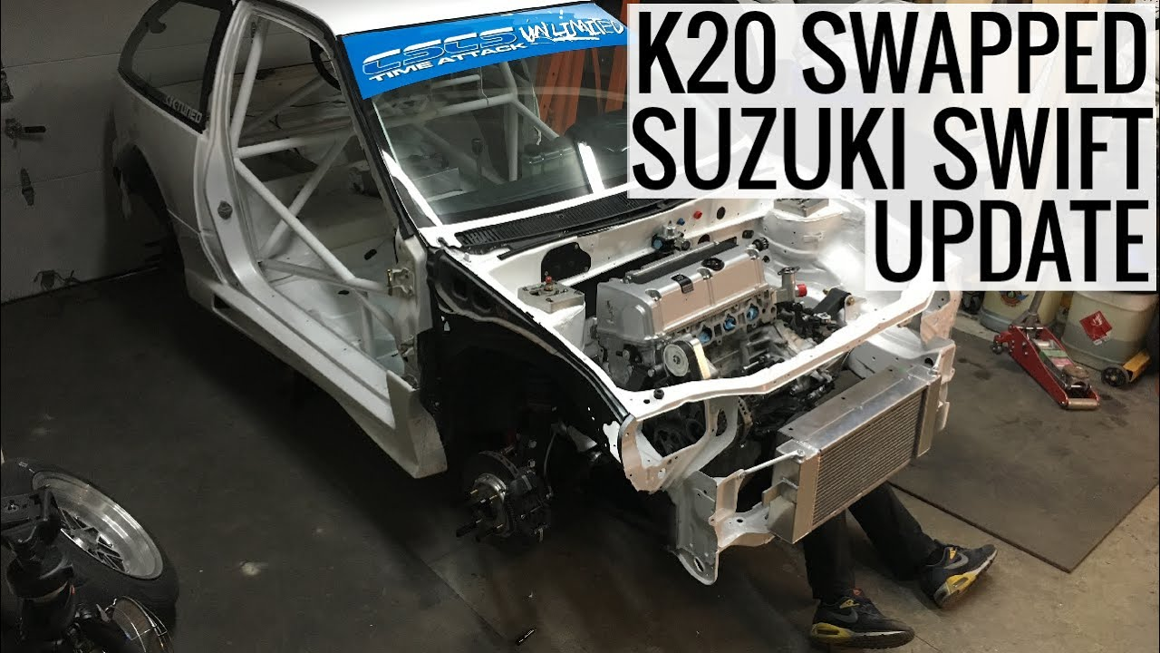 Suzuki Swift with a K20 Update – Engine Swap Depot