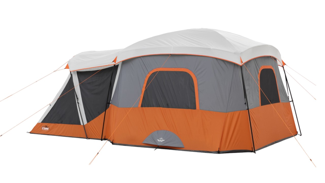 Ozark Trail 12 Person Cabin Tent With Screen Porch Red  sc 1 st  Best Tent 2018 & 12 Person Tent With Screened Porch - Best Tent 2018