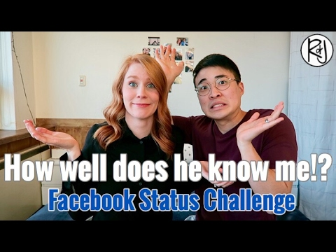 Husband Answers Questions About Wife | Facebook Challenge ...